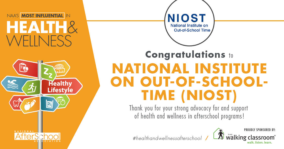niost-named-a-most-influential-in-health-wellness-honoree